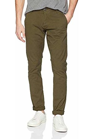 Selected HOMME Men's Shhoneluca Canteen St Pants Noos Plain Slim Trouser