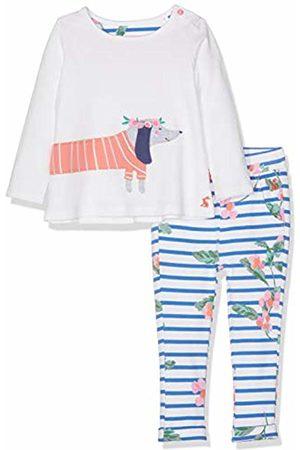 Joules Baby Girls' Olivia Clothing Set, ( Sausage Dog Whtsausdog)
