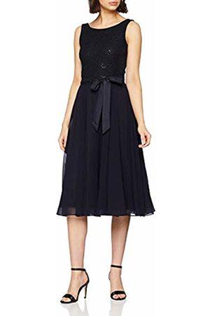 Vera Mont Women's 2129/5000 Dress (Night Sky 8541) 16 (Size: 42)