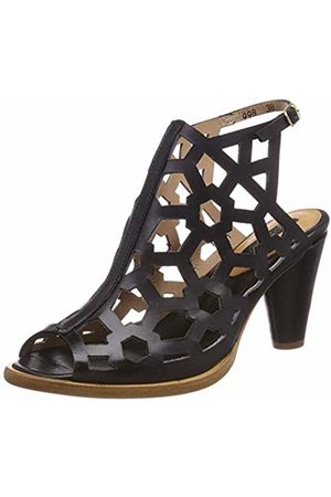 Neosens Women's S998 Restored Skin Ebony/Montua Ankle Strap Sandals