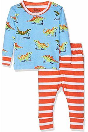 Hatley Baby Girls' Organic Cotton Pyjama Sets (Scooting Dinos)
