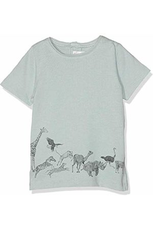 Mamas & Papas Mamas and Papas Baby Boys' Running Animals Tee T-Shirt