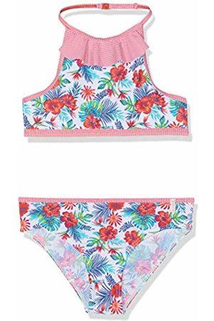 Esprit Girl's Hawai Beach Mg Neckholder+Mini Swimwear Set, ( Fuchsia 660)