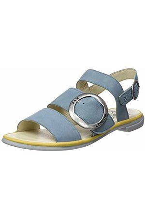 Fly London Women's CODA006FLY Open Toe Sandals, (Pale /Bumblebee 003)