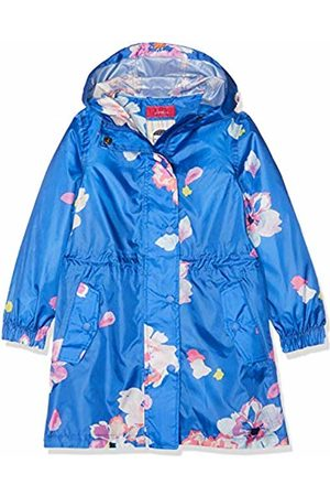 Joules Girl's Golightly Rain Jacket, (Mid Floral Midbluflrl)