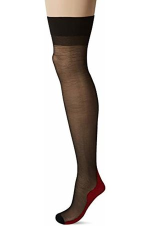 Glamory Women's Delight 23 Tights, 20 DEN, Mehrfarbig Schwarz/Rot