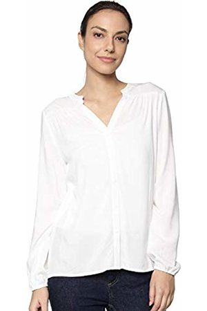 JDY Women's ice L/s Shirt WVN Noos Blouse, Cloud Dancer