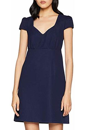 Naf-naf Women's KENR85AD Party Dress Bleu Marine 567
