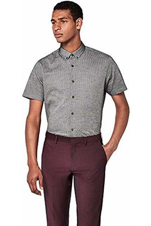 T-Shirts Men's Textured Casual Short Sleeve Shirt