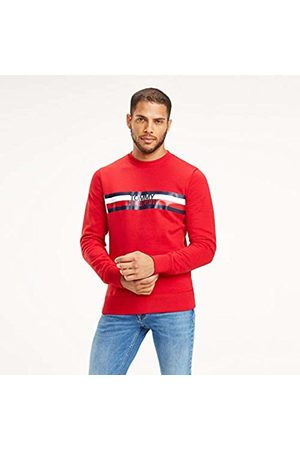 Tommy Hilfiger Men's Tommy Logo Sweatshirt (Haute 611)