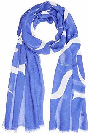 Trussardi Jeans Men's Pashmina Print Logo Micromodal Scarf