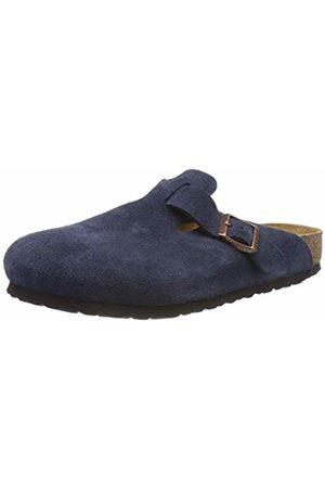 Birkenstock Men's Boston SFB Clogs, Navy
