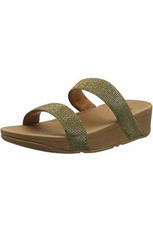 FitFlop Women's Lottie Glitzy Slide Open Toe Sandals Artisan 667