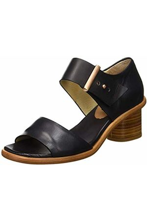 Neosens Women's S970 Restored Skin Ebony/Tintilla Open Toe Sandals