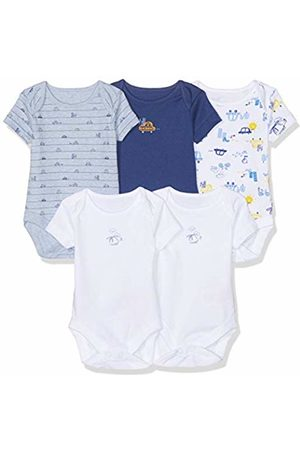 Mothercare Baby Boys' On The On The Road Bodysuits - 5 Pack 128