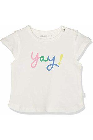 Noppies Baby Girls' G Tee Slim ss Rolla T - Shirt Elfenbein De Blanc P002