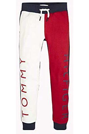 Tommy Hilfiger Boy's U Colorblock Sweatpant Trouser