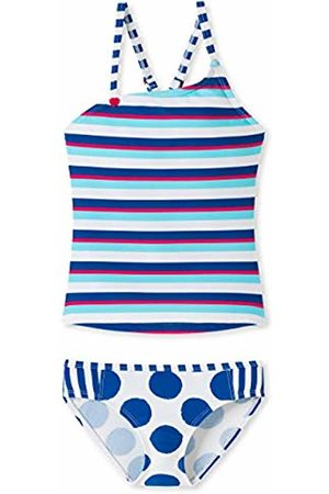 Schiesser Girls Tankinis - Girl's Aqua Bade-Tankini (Multicolor 1 904)