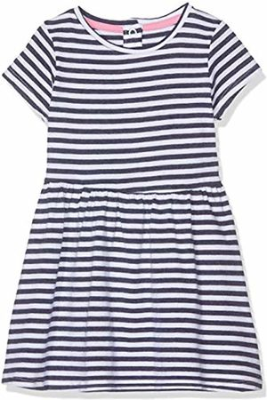 Mothercare Girl's Navy Striped Dress 21