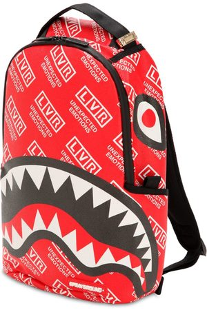 Sprayground Lvr Edition Small Logo Printed Backpack