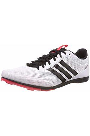 adidas Women's Distancestar W Track & Field Shoes, Bianco FTWR /Core /Shock
