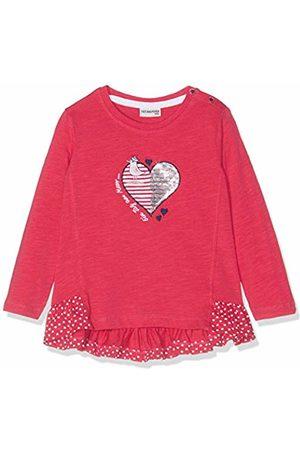 Salt & Pepper Salt and Pepper Baby Girls' B Longsleeve Meer uni Herz T-Shirt 86 cm