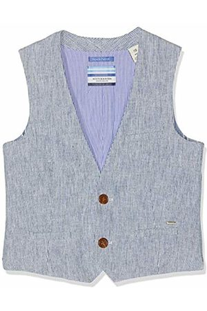 Scotch&Soda Shrunk Boy's Cotton Linen Gilet (Combo X 603) 104 (Size: 4)