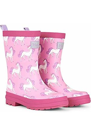 Hatley Girls' Printed Wellington Boots (Unicorn Doodles Matte 650)