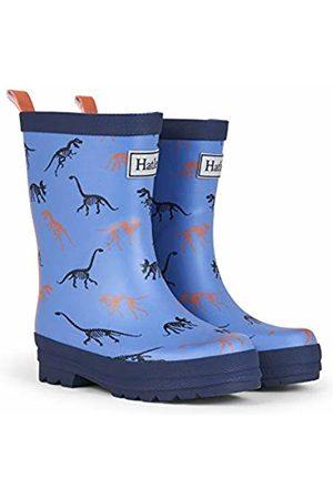 Hatley Boys' Printed Wellington Rain Boots Silhouette Dinos Matte 400