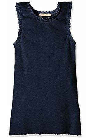 Scotch&Soda R´Belle Girl's Basic Rib Tank Top with Lace Details at Armhole and Neckline Vest
