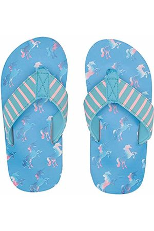 Hatley Girls Flip Flops (Rainbow Unicorns 400)