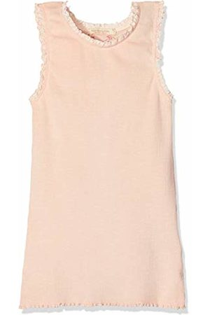 Scotch&Soda R´Belle Girl's Basic Rib Tank Top with Lace Details at Armhole and Neckline Vest, (Pale 188)