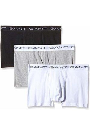 GANT Men's 3-Pack Trunk Vest, ( Melange 93)