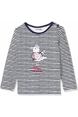 Salt & Pepper Salt and Pepper Baby Girls' B Longsleeve Meer Stripe T-Shirt 86 cm