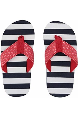 Hatley Boys Flip Flops (Nautical Stripes 100)