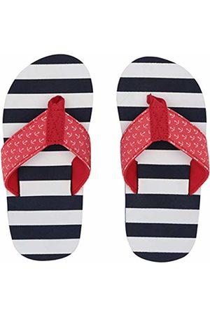Hatley Boys Flip Flops (Nautical Stripes 100)