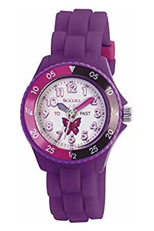 Tikkers Girls' Analogue Quartz Watch with Rubber Bracelet – TK0041