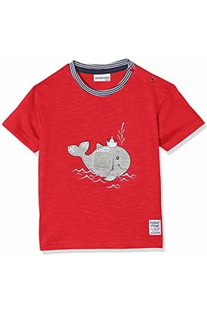 Salt & Pepper Salt and Pepper Baby Boys' B T-Shirt Pirat uni Wal Mobil Rot ( 358)