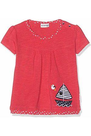 Salt & Pepper Salt and Pepper Baby Girls' B T-Shirt Meer uni Stick Boot Rot (Hibiscus 360)