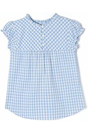 ZIPPY Girl's Zg0302_455 Blouse, (Chambray 3164)