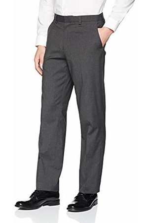 Burton Men's Regular Fit Stretch Trousers (Charcoal 140)