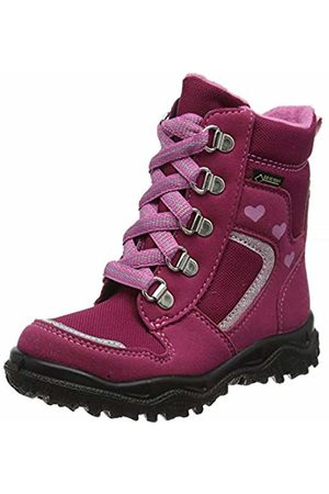 Superfit Girls' HUSKY1 Snow Boots, (Rot/Rosa 50)