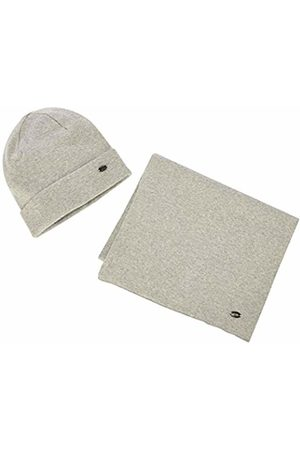 Lee Cooper Men Gloves - Men's Men Xmas Knit Box Scarf + Hat Scarf Hat and Glove Set