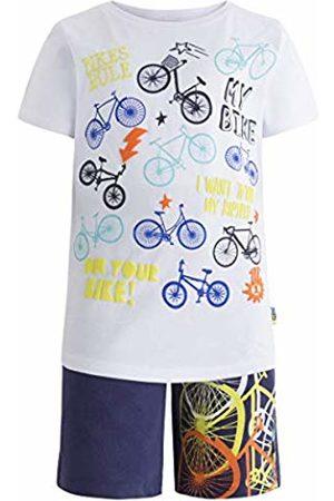 Tuc Tuc Boy's Camiseta Punto+Bermuda Felpa Niño Happy Clothing Set