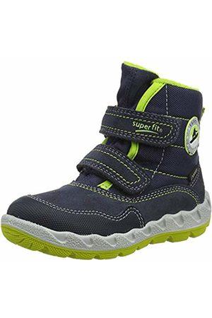 Superfit Boys' Icebird Snow Boots, (Blau/Grün 80)