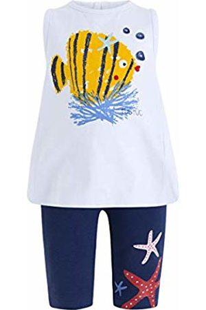 Tuc Tuc Baby Girls' Camiseta+Leggings Punto Niña Arrecife de Coral Clothing Set, ( 16)