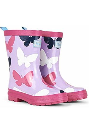 Hatley Girls' Printed Wellington Boots ( Silhouette Butterflies 500)
