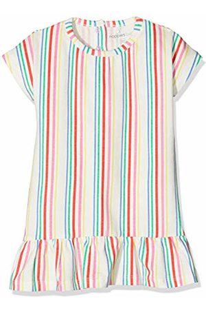 Noppies Baby Girls' G Dress ss Rotonda str Mehrfarbig (Bright P020) 9-12 Months