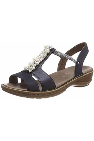 Women's Hawaii 1227203 T Bar Sandals, (Blau 02)