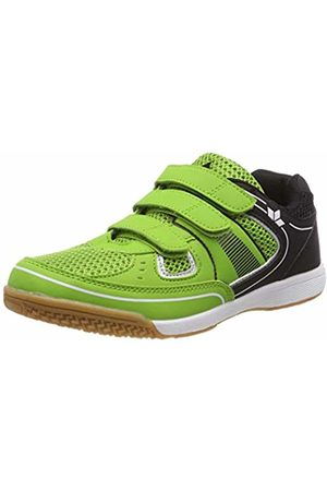 LICO Unisex Recent Kids V Multisport Indoor Shoes, Gruen/Schwarz/Weiss